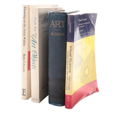 "Illustrated ""Art"" by Auguste Rodin and More Art Books"