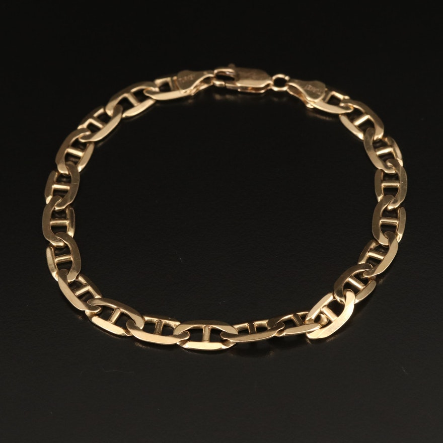 10K Mariner Link Bracelet