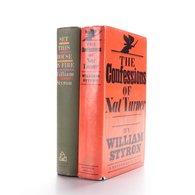 """First Printing William Styron Novels Including """"The Confessions of Nat Turner"""""""