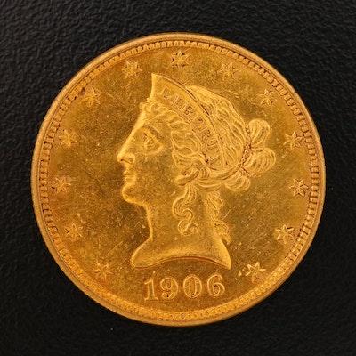 1906-D Liberty Head $10 Gold Eagle