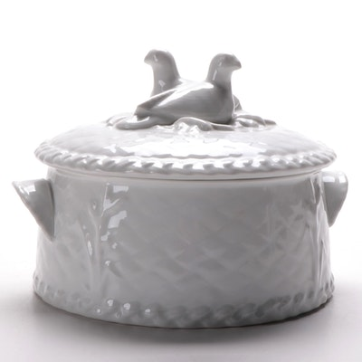 "Royal Worcester ""Gourmet"" Porcelain Covered Casserole Dish, 1987–1990"