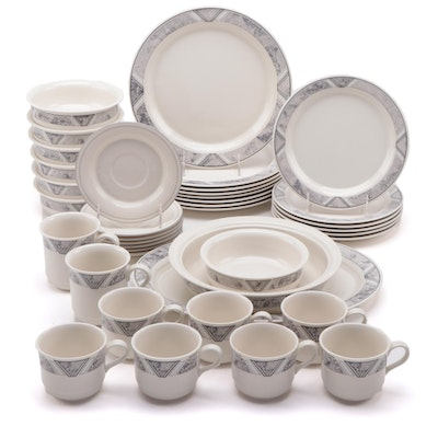 "Lenox Chinastone ""Natural Accent Granite"" Ceramic Dinnerware"