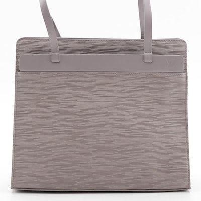 Louis Vuitton Croisette Bag in Lilac Epi Leather