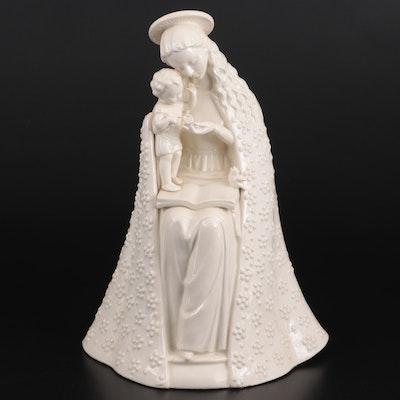 """Goebel Porcelain """"Flower Madonna"""" Figurine"""