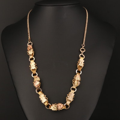 Victorian Foliate Necklace