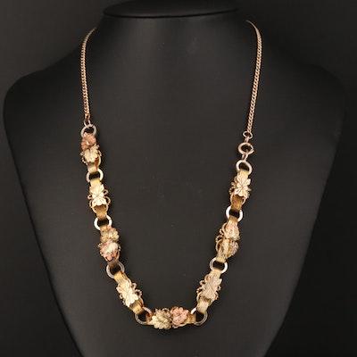 Victorian Foliate Necklace