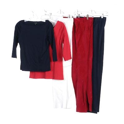 Lauren Ralph Lauren Red Velvet Pants and Other Brands Shirts and Pants