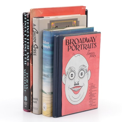 "Signed ""Broadway Portraits"" by Samuel Marx and Other Signed Books"