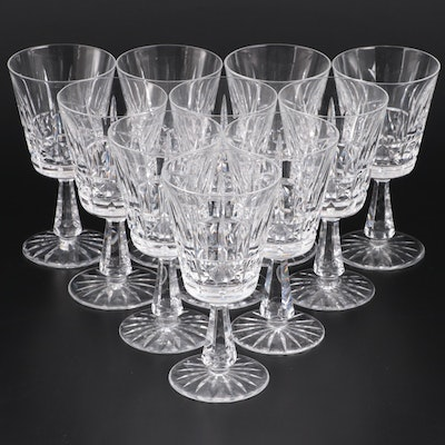 "Waterford ""Kylemore"" Crystal Water Goblets"