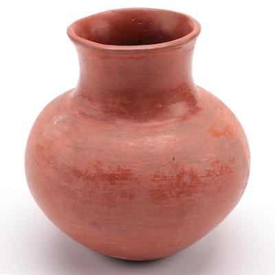 Primitive Style Earthware Vase