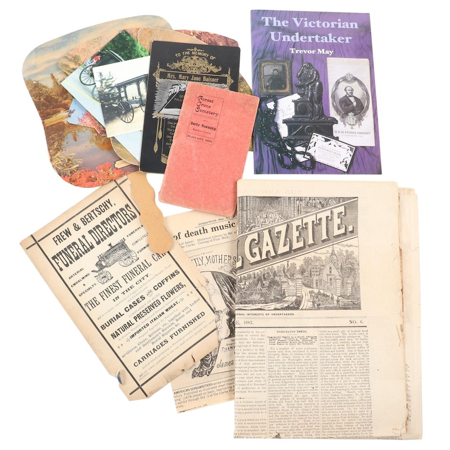 """""""The American Funeral Gazette,""""""""The Victorian Undertaker,"""" and More"""