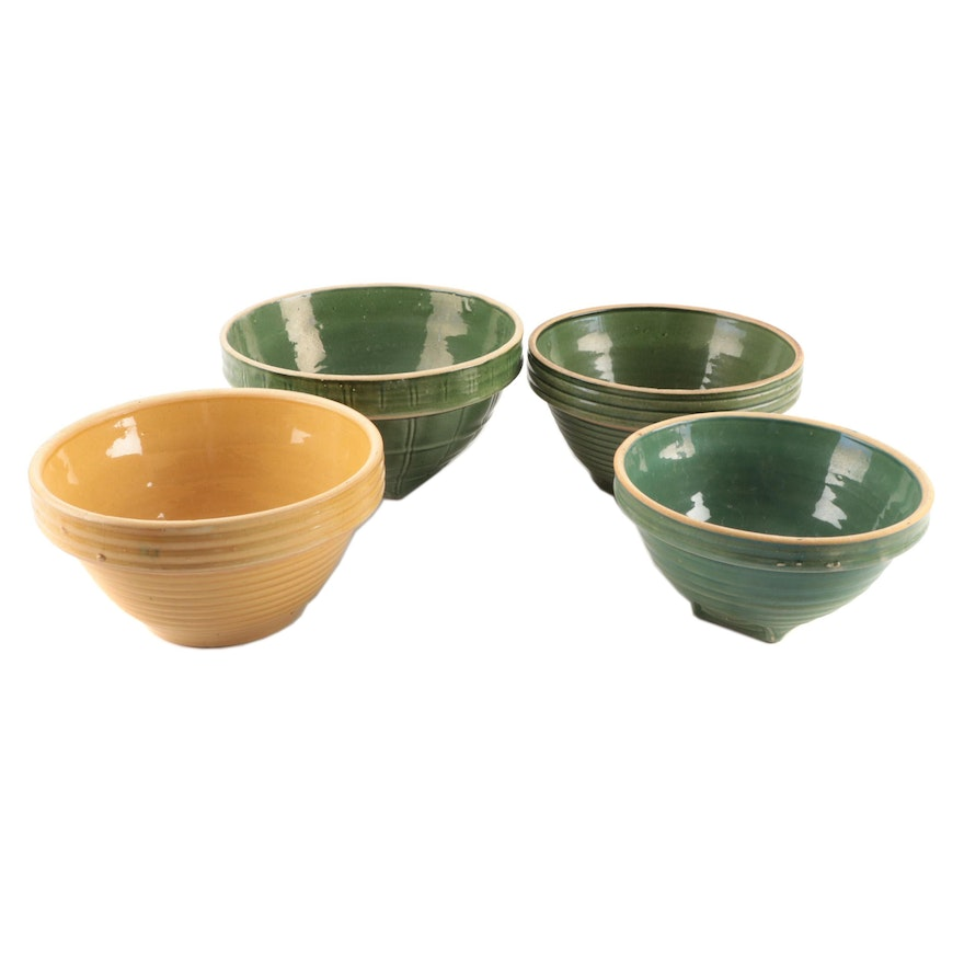 The Nelson McCoy Sanitary Stoneware Co. and Other Ceramic Mixing Bowls