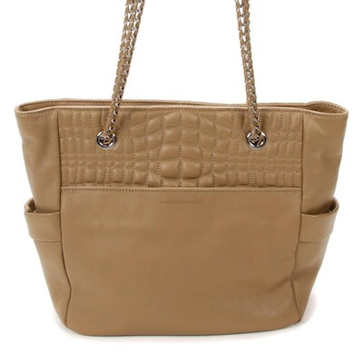 Aimee Kestenberg Chain Strap Tote in Quilted Leather