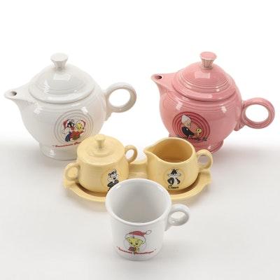 Homer Laughlin Warner Bros. Looney Tunes Fiestaware Teapots and Serveware