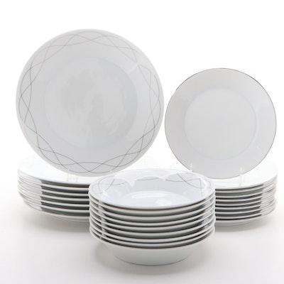 "Wedgwood Everyday ""Platinum Twist"" China Dinnerware"