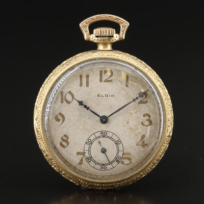 1911 Elgin Gold Filled Pocket Watch