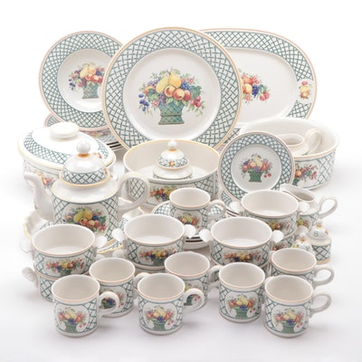 "Villeroy & Boch ""Basket"" Porcelain Dinnerware"