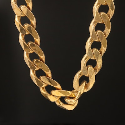 Sterling Curb Link Chain