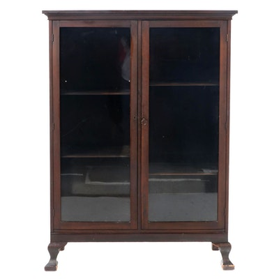 American Colonial Revival Mahogany-Stained Bookcase, Early 20th Century
