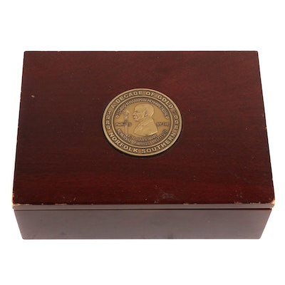 "Norfolk Southern ""A Decade of Gold"" Memorial Box"