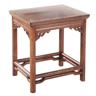 Chinese Hardwood Side Table