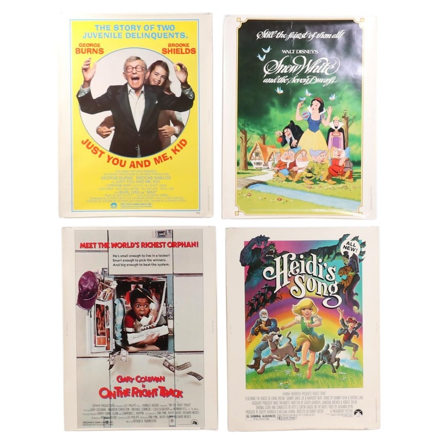 Theatrical Release Halftone Movie Posters