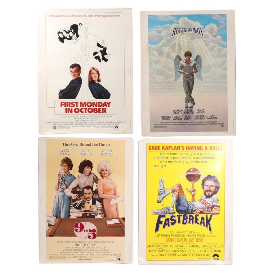 Comedy Theatrical Release Halftone Movie Posters