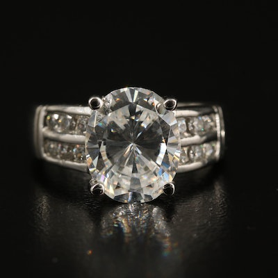 Sterling Cubic Zirconia Ring
