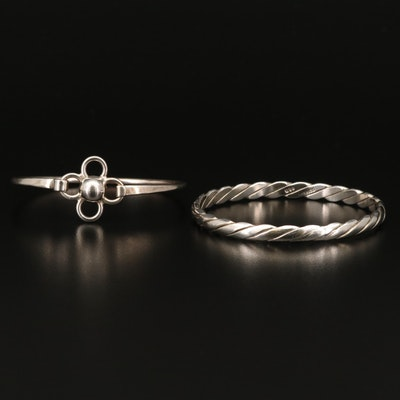 Mexican Sterling Silver Bangles