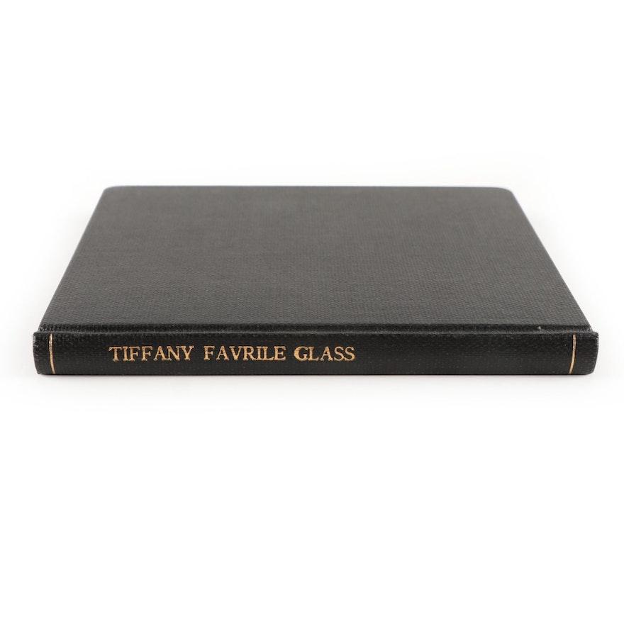 """Tiffany Favrile Glass"" Fifth Edition, 1899"