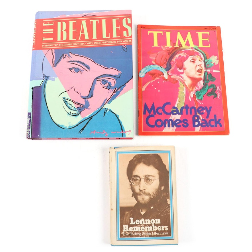 """""""The Beatles,"""" """"Lennon Remembers,"""" and """"Time"""" with Paul McCartney Cover"""