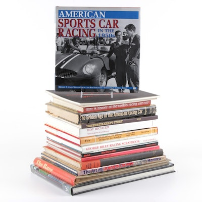 Sports Cars and Racing History and Reference Books