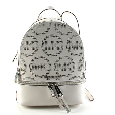 MICHAEL Michael Kors Rhea Zip Perforated Leather Backpack