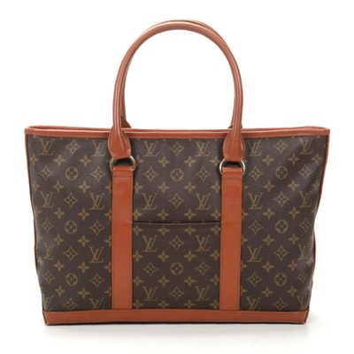 Louis Vuitton Sac Weekend in Monogram Canvas and Leather