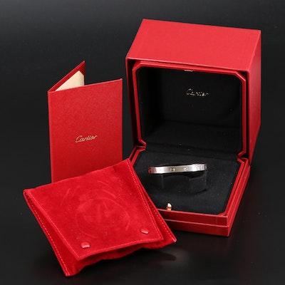 """Cartier """"Love"""" 18K Cuff"""