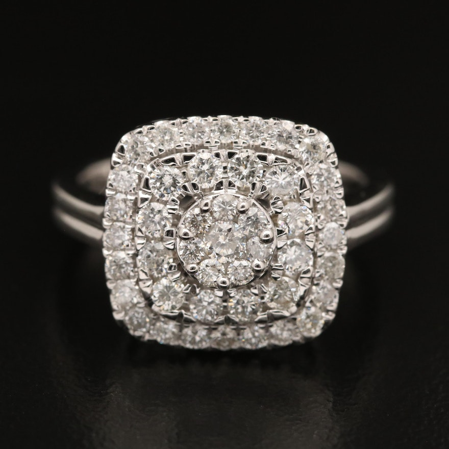 14K 1.21 CTW Diamond Ring