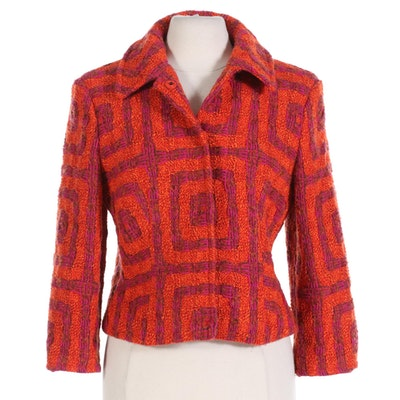 Strenesse Gabriele Strehle Wool Blend Jacket