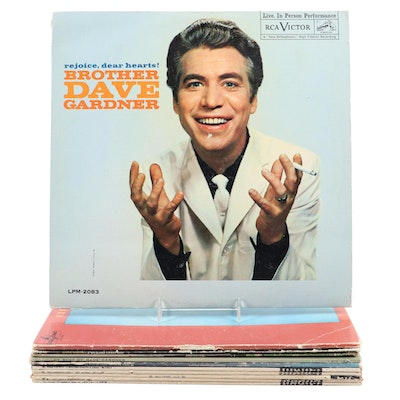 "Steve Martin, George Carlin and ""The First Family"" with Other Comedy Records"