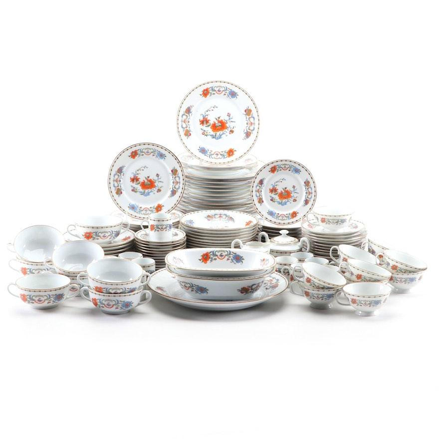 "A. Raynaud & Co. Céralene Limoges ""Vieux Chine"" Porcelain Dinnerware, 1986–1996"