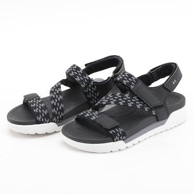 Rykän Rowana Black/Gray Sport Sandals