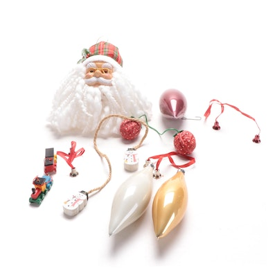 Handmade and Other Christmas Ornaments and Decor