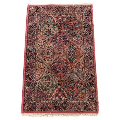 """2'11 x 5'2 Power Loomed Karastan """"Kirman"""" Wool Area Rug"""