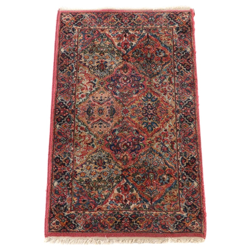 "2'11 x 5'2 Power Loomed Karastan ""Kirman"" Wool Area Rug"