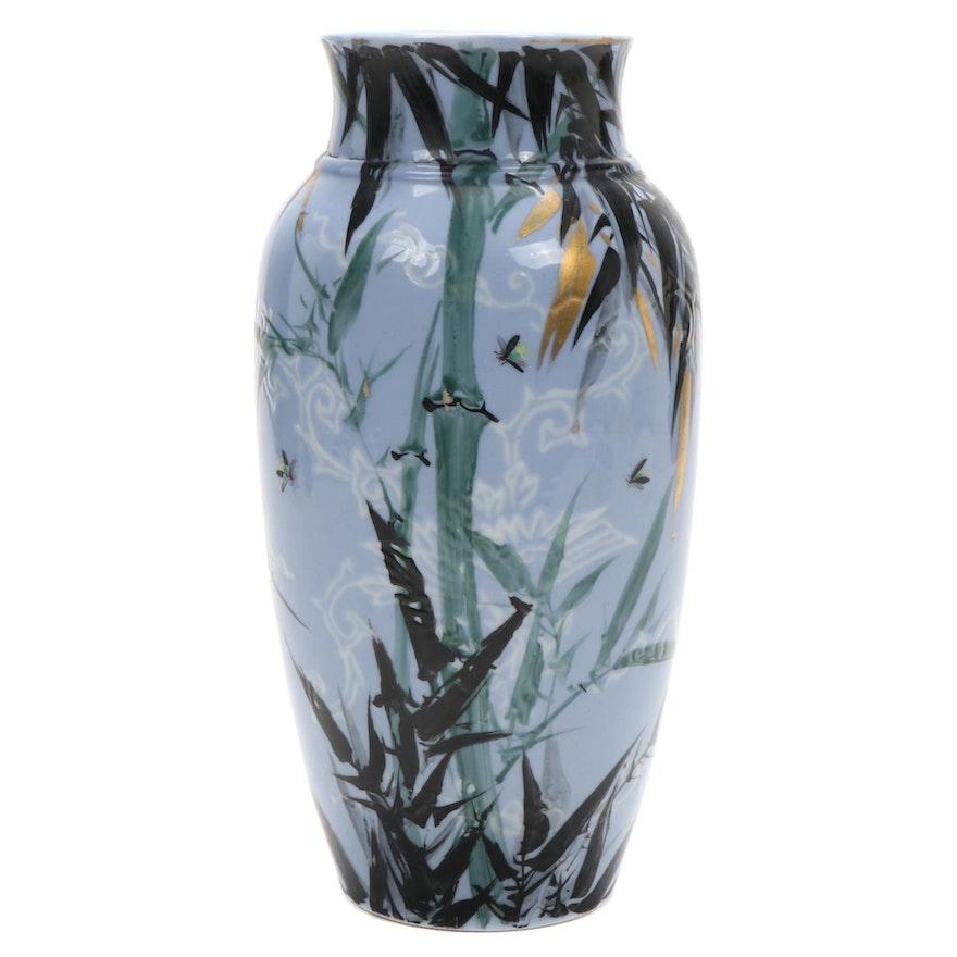 Kawamoto Masukichi Japanese Porcelain Vase