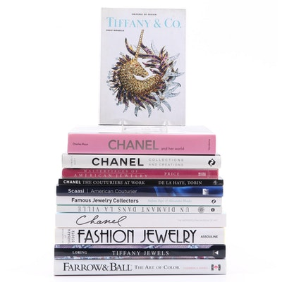 Jewelry and Fashion Reference Books Including Chanel and Tiffany & Co.