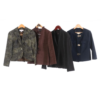 Eileen Fisher, Lafayette 148, Worth and MICHAEL Micheal Kors Jackets