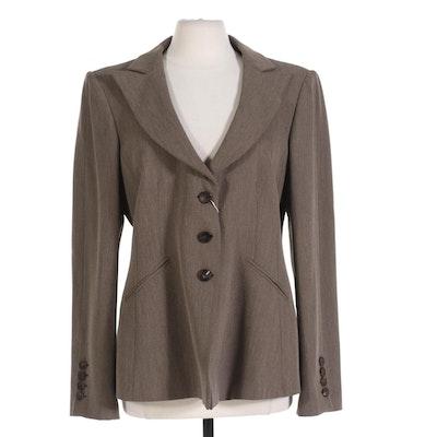 Women's Armani Collezioni Italian Wool Suit Jacket