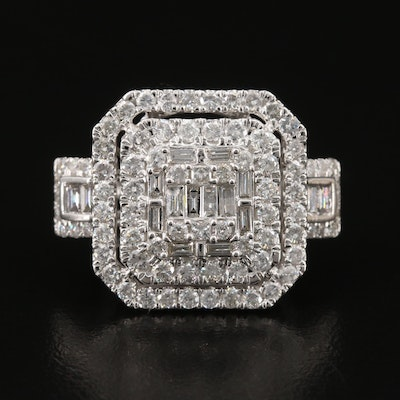 14K 3.08 CTW Diamond Ring