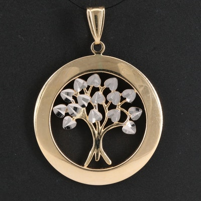 "14K ""Tree of Life"" Pendant"