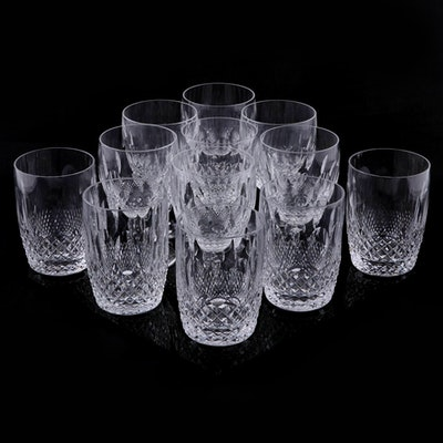 """Waterford Crystal """"Colleen Short Stem"""" Water Goblets and Tumblers"""